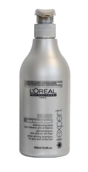 Šampón Silver oživení lesku bílých a odbarvených vlasů - 500 ml - Loréal Professionnel + DÁREK ZDARMA