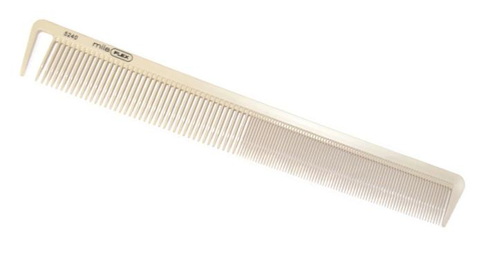 Antistatický hřeben na stříhání Mila Flex - 22,5 cm (0065240)