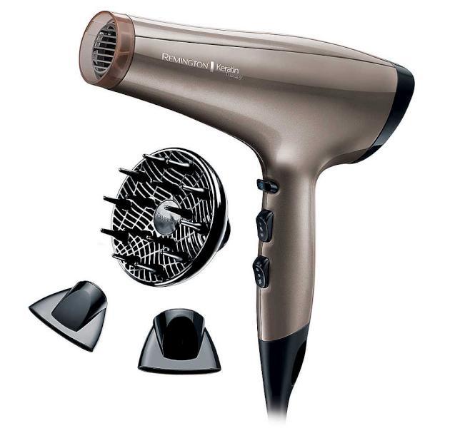 Remington Fén na vlasy Keratin Therapy Pro - 2200 W (AC8000) + DÁREK ZDARMA