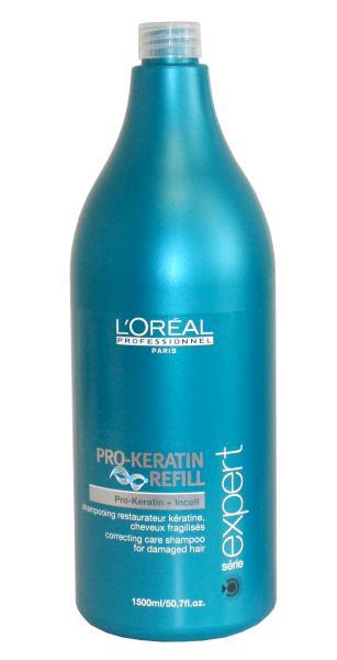 Loréal Šampon Pro-Keratin Refill pro oslabené vlasy - 1500 ml + DÁREK ZDARMA