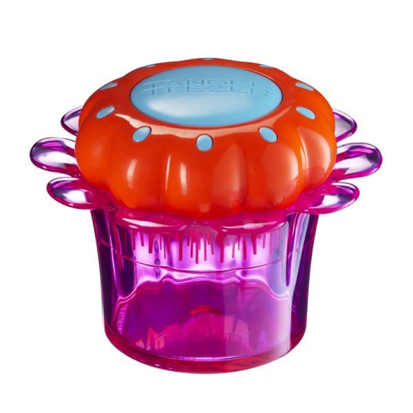 Tangle Teezer Květináček -oranžový kartáč v růžovém květináčku (TT-K FLOWER_PINK) + DÁREK ZDARMA