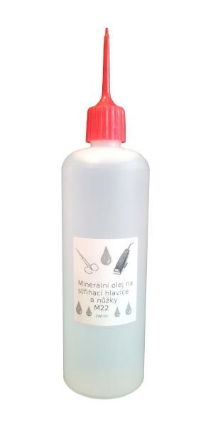 Olej M22 1000-0200 na stříhací hlavice - 200 ml - Moser
