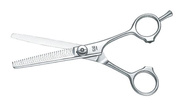 """Efilační nůžky Kasho Zelená řada - 5,5"""", 30 zubů (KGR-55/T30) + DÁREK ZDARMA"""