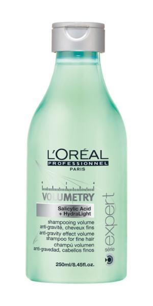 Šampon Loréal Volumetry pro objem jemných vlasů - 250 ml