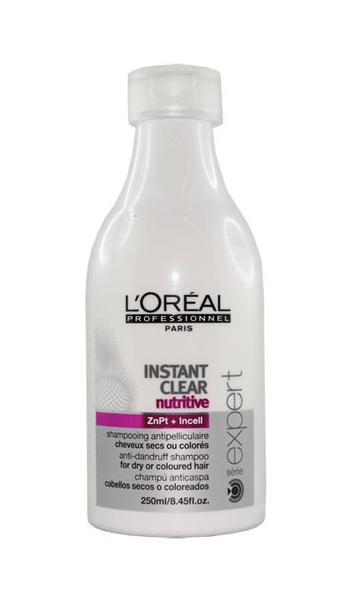 Instant Clear Nutritive Očisťující šampon proti lupům - 250 ml - Loréal Professionnel