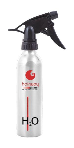 Rozprašovač na vodu Hairway - 250 ml - stříbrný H2O (15080-32)