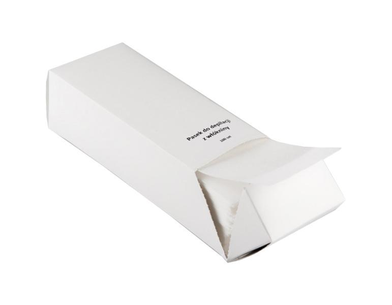 Depilační páska Eko-Higiena - 100 proužků v kartonu, 22,5 x 6,5 cm (K/001/100K)