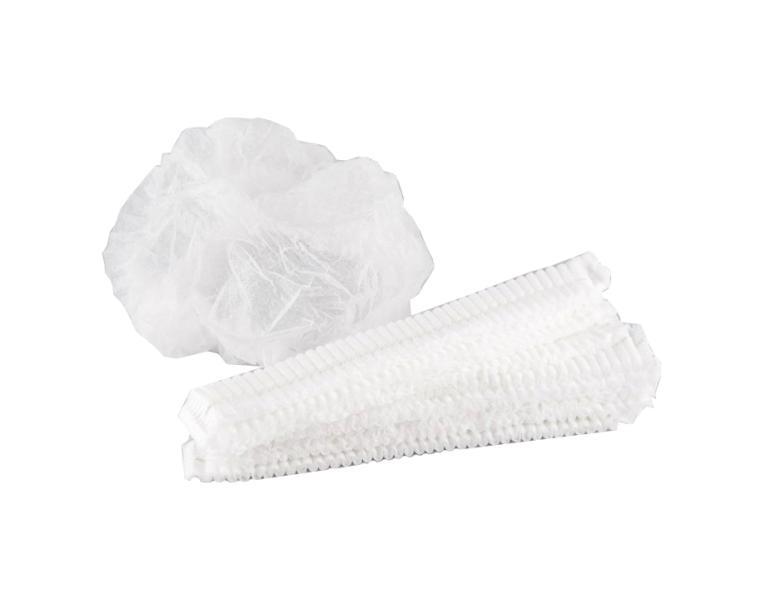 Čepice Eko-Higiena CLIP z netkané textilie - 100 ks (K/018/100F)