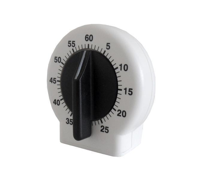 Mila časovač - bílo-černý (0065307)