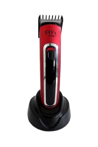 Fox Konturovací strojek na vlasy a vousy Reggae, červený (2740064) + DÁREK ZDARMA