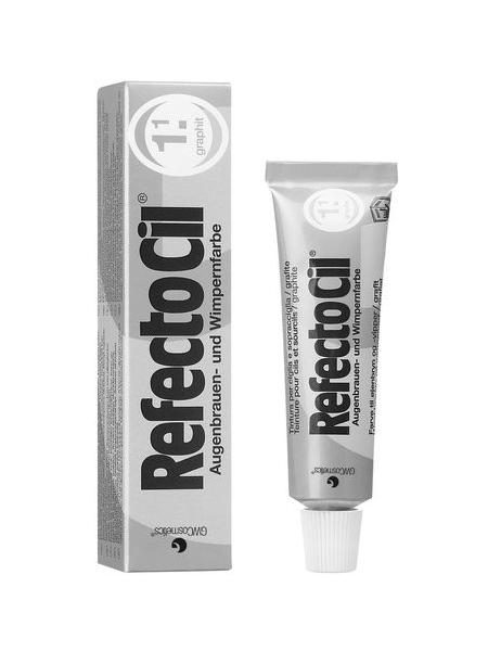 RefectoCil Barva na obočí a řasy 15 ml - č.1.1, grafit (K/081/015/G)