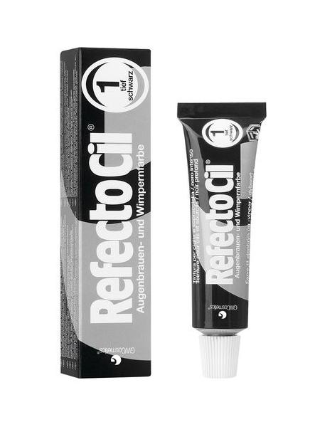 RefectoCil Barva na obočí a řasy 15 ml - č.1, černá (K/081/015/C)