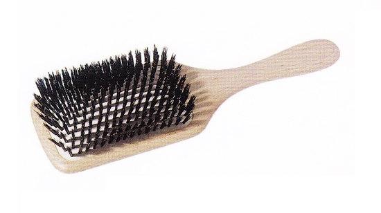 Kartáč z mas.dřeva, přír.štětiny Keller Paddle Brush 525 02 40 + DÁREK ZDARMA