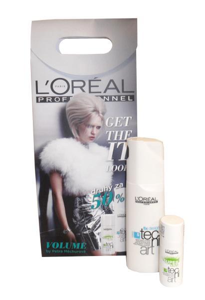 Dárkový balíček Loréal Tecni art sprej + pudr + DÁREK ZDARMA