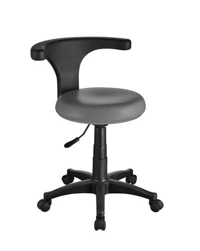 Pedikérská židle s opěrkou Weelko ERGO - šedá (1028-Grey) + DÁREK ZDARMA