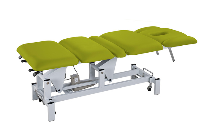 Elektrické masážní lehátko Weelko CLAVE - 3 motory, zelené (2252B-Green) + DÁREK ZDARMA