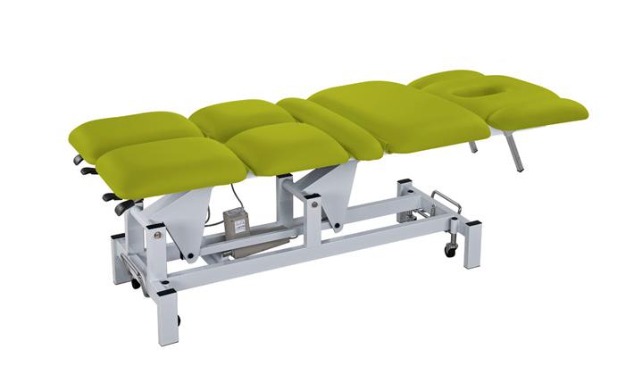 Elektrické masážní lehátko Weelko THOR - 2 motory, zelené (2252A-Green) + DÁREK ZDARMA