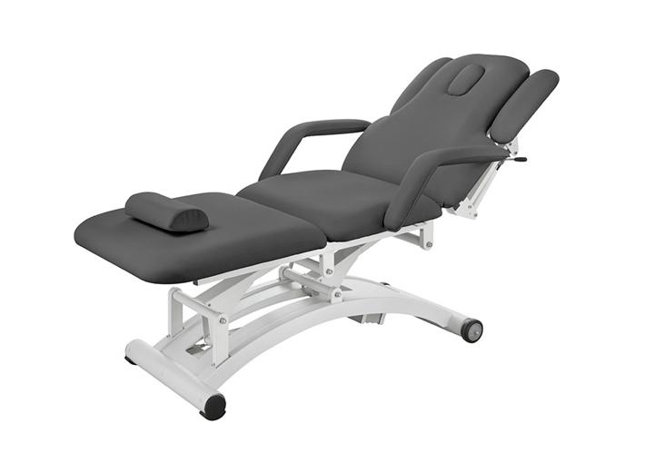 Elektrické masážní lehátko Weelko SPHEN - 3 motory, šedé (2241C-Grey) + DÁREK ZDARMA
