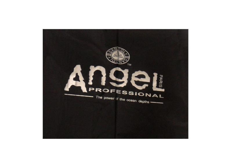 Dancoly Angel pláštěnka na barvení - černá, dlouhá (A-806)