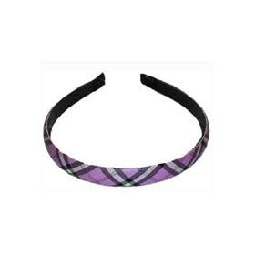 Čelenka do vlasů Detail potažená látkou - úzká, barevná (DHSLH-0121)
