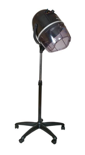 Fox air Ionizační sušící helma na stojanu - 2 rychlostní, černá (7511007) + DÁREK ZDARMA