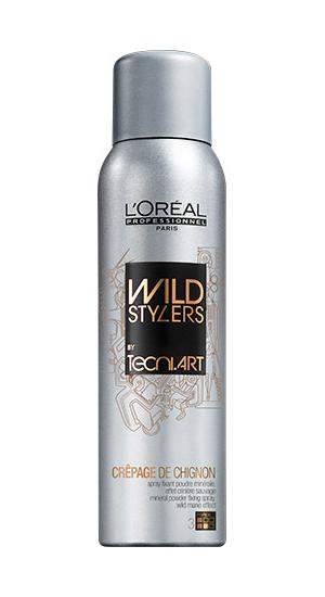 Wild Stylers Pudrový sprej Crepage De Chignon - 200 ml - Loréal Professionnel