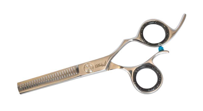 """Efilační nůžky Detail Offset 6,5"""" DHS-AM-122 440C - 25 zubů (DHS-AM-122-6,5-440C) + DÁREK ZDARMA"""