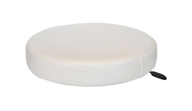 Hairway Taburet Comfort - náhradní sedák - bílý (85-04) + DÁREK ZDARMA