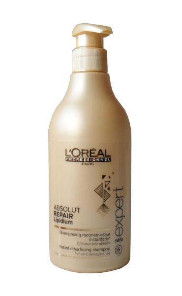 Šampon Absolut Repair Lipidium pro velmi poškozené vlasy - 500 ml - Loréal Professionnel + DÁREK ZDARMA