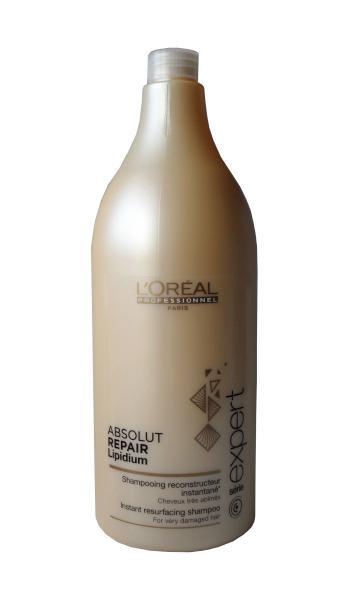 Šampon Absolut Repair Lipidium pro poškozené vlasy - 1500 ml - Loréal Professionnel + DÁREK ZDARMA