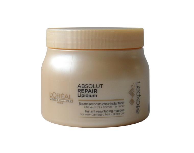 Maska Absolut Repair Lipidium pro velmi poškozené vlasy - 500 ml - Loréal Professionnel + DÁREK ZDARMA