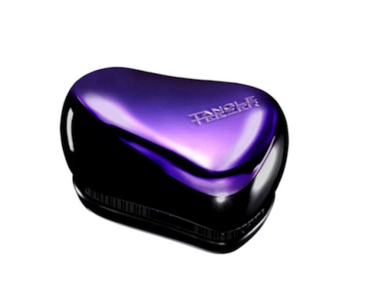 Tangle Teezer - COMPACT - cestovní - černý a fialový lesklý (202776) + DÁREK ZDARMA