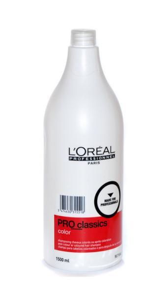 Loréal Šampon Pro Classic Color po barvení - 1500 ml + DÁREK ZDARMA