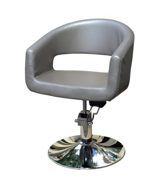 Kadeřnické designové křeslo Hairway RETRO - šedé (56083-194) + DÁREK ZDARMA
