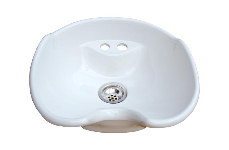 Hairway - umyvadlo pro mycí box New York - keramické, bílé (57-02) + DÁREK ZDARMA