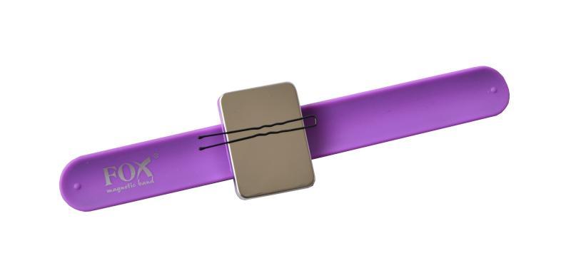 Magnetický náramek Fox Magnetic Band - fialový (1507030)