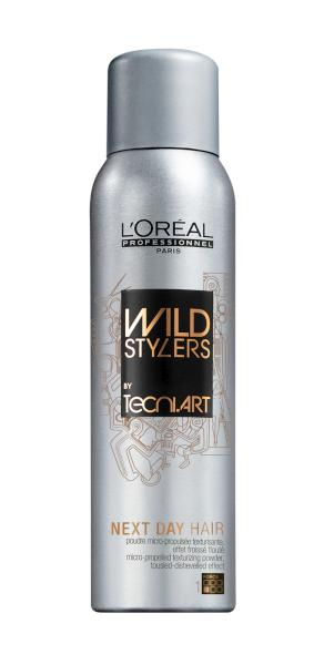 Wild Stylers Pudrový sprej Next Day Hair - 250 ml - Loréal Professionnel