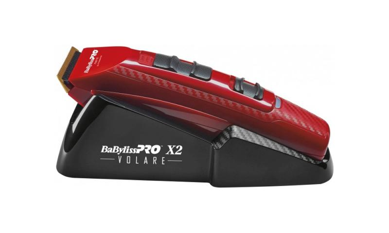 BaByliss Pro Strojek na vlasy FX811RE X2 FERRARI - červený + DÁREK ZDARMA