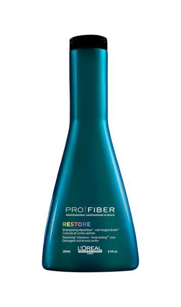 Loréal Šampon PRO FIBER Restore pro obnovu vlasů - 250 ml + DÁREK ZDARMA