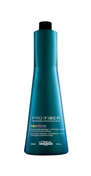 Loréal Šampon PRO FIBER Restore pro obnovu vlasů - 1000 ml (E1547900) + DÁREK ZDARMA