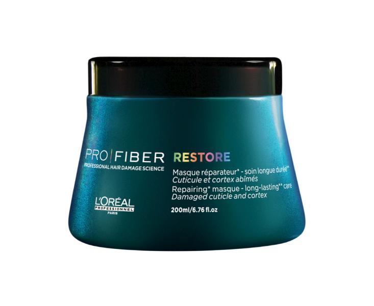 Loréal Maska PRO FIBER Restore pro obnovu vlasů - 200 ml + DÁREK ZDARMA