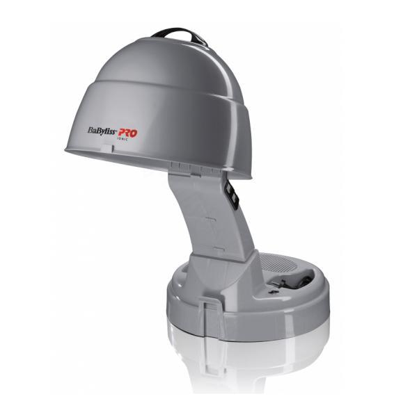 Babyliss Pro Sušící helma s Ionizací , 2 rychlostní - přenosná (BAB6910E) + DÁREK ZDARMA
