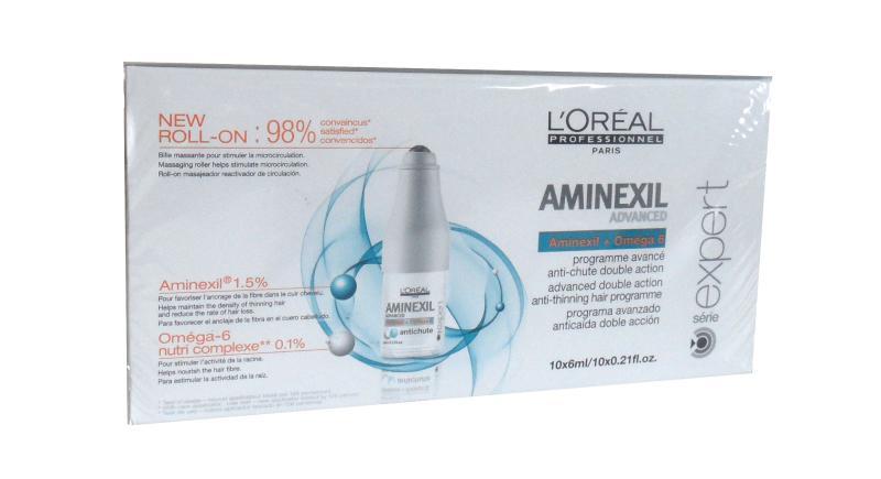 Program proti padání vlasů Loréal Aminexil Advance - 10 x 6 ml + DÁREK ZDARMA