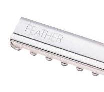 Náhradní břity Feather do seřezávače - efilační, 58 mm, 10 ks (7719810)