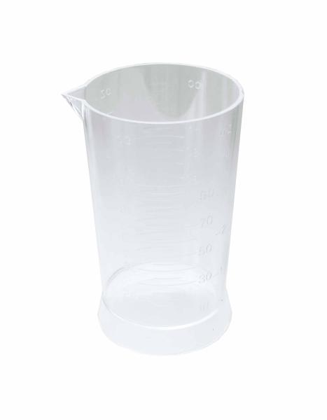 Kadeřnická odměrka s měrnými ryskami - 100 ml, plastová (6204) - DUKO