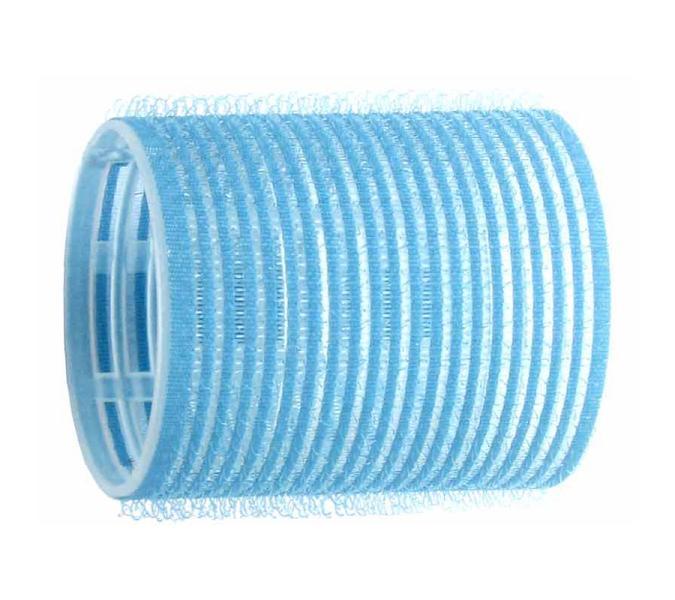 Natáčky na vlasy Velcro pr.50 mm, 6 ks - samodržící, modré (15/1) - DUKO