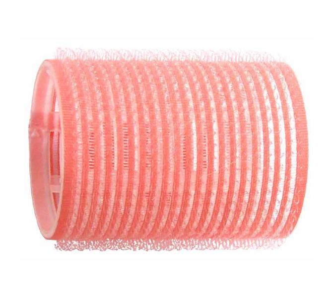 Natáčky na vlasy Velcro pr.44 mm, 6 ks - samodržící, růžové (15/2) - DUKO