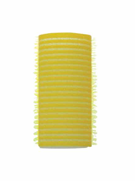 Natáčky Velcro/molitan pr.28 mm, 12 ks - samodržící, žluté (16/1a) - DUKO