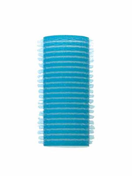 Natáčky Velcro/molitan pr.25 mm, 12 ks - samodržící, modré (16/2) - DUKO