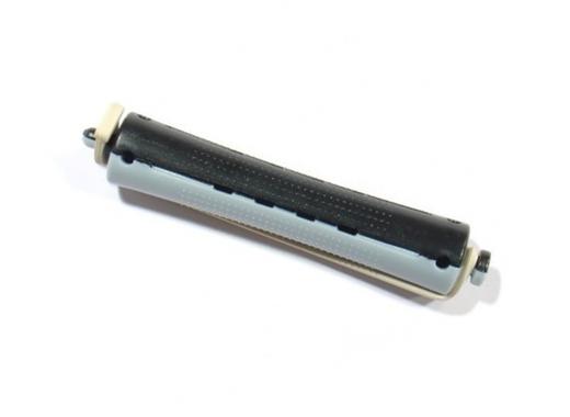 Plastové natáčky na trvalou pr.16mm, 12 ks - černo-šedé (1167) - DUKO